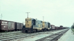 Two AT&SF GP7s in September 1966